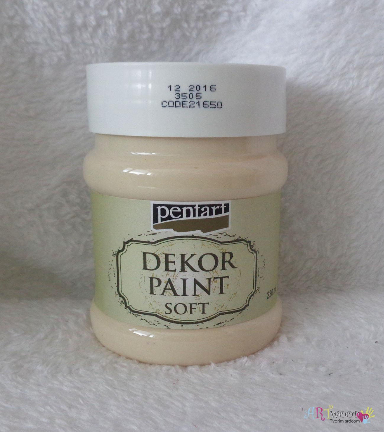 Decort Paint Soft 230ml- marhuľová