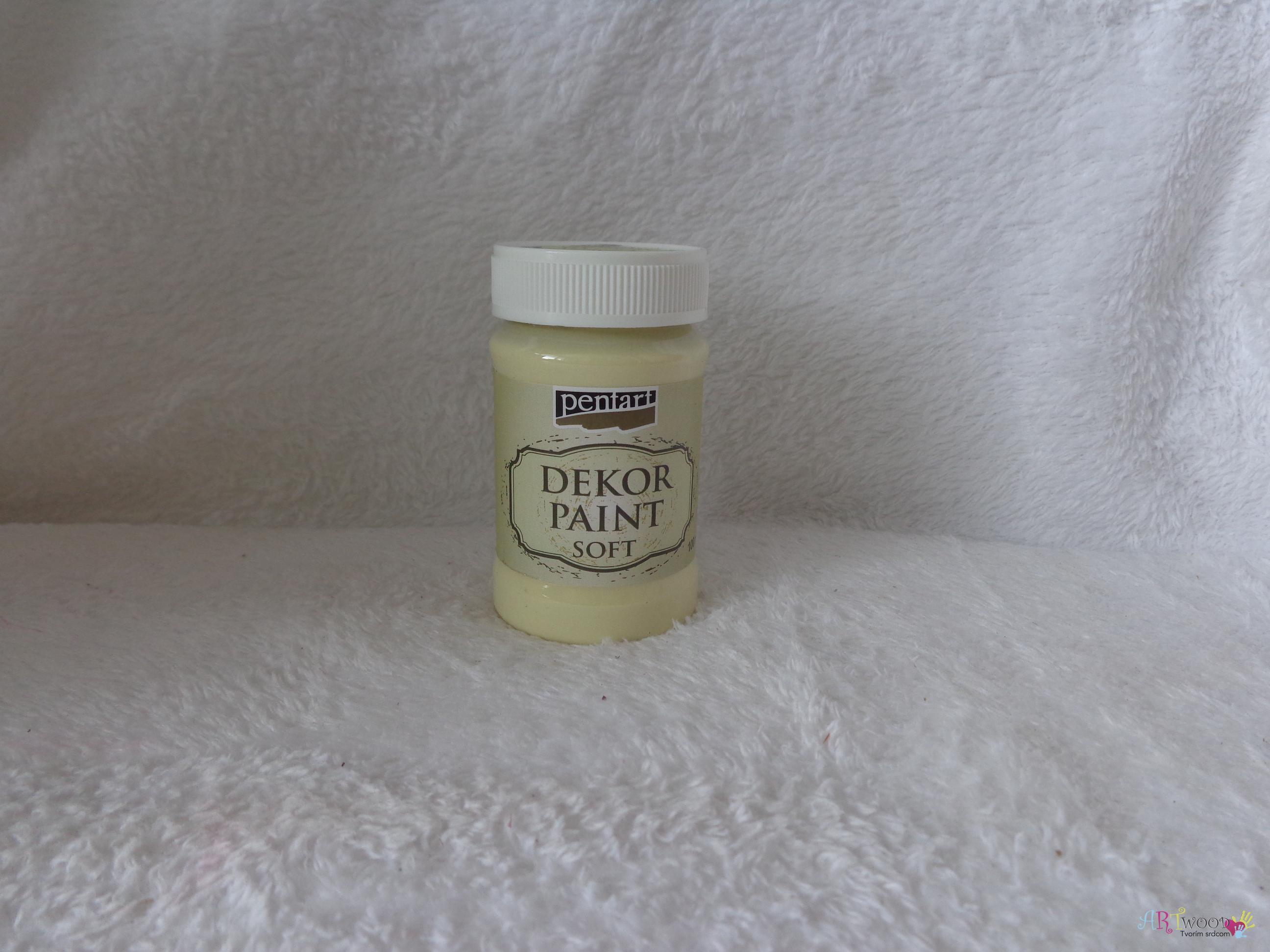 Decort Paint Soft 100ml-žltá