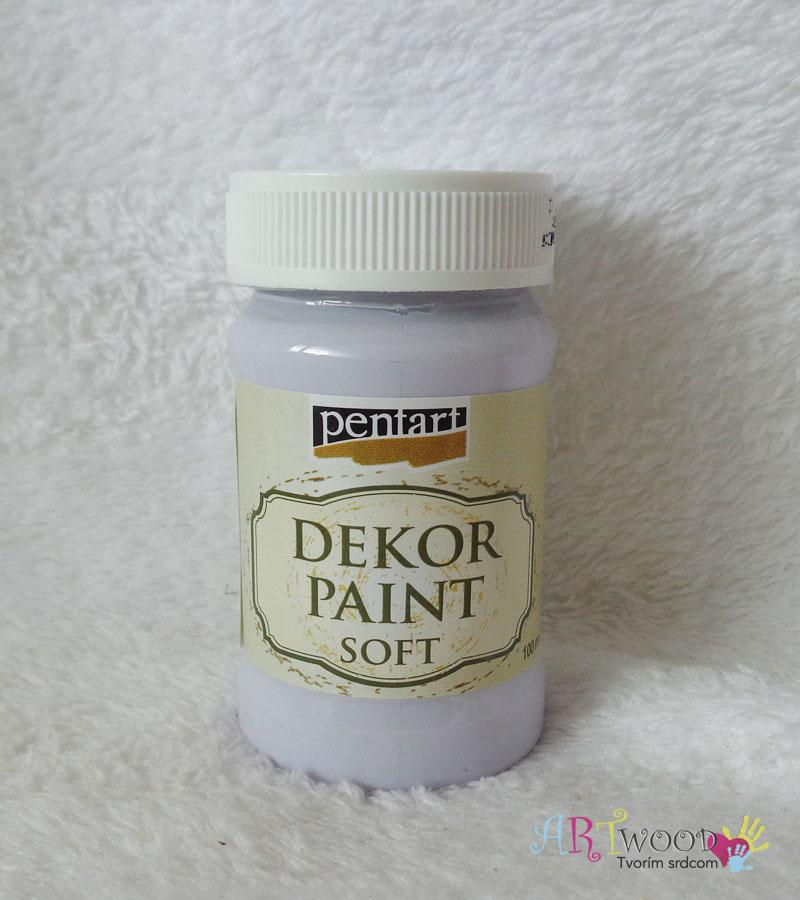 Decort Paint Soft 100ml-svetlofialová