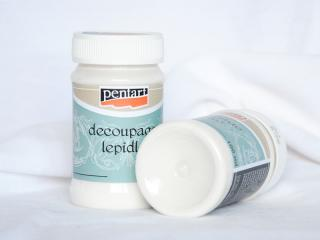 PENTART Lepidlo s lakom-decoupage, 100 ml