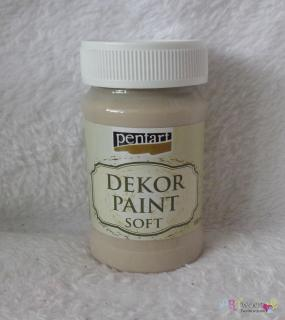 Decort Paint Soft 100ml-capuccino