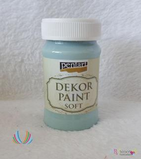 Decort Paint Soft 100ml-country modrá