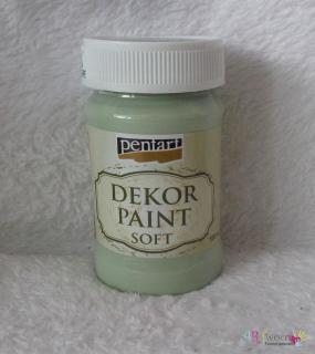 Decort Paint Soft 100ml-country zelená