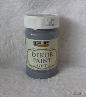 Decort Paint Soft 100ml-grafitová