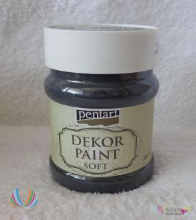 Decort Paint Soft 230ml-čierna