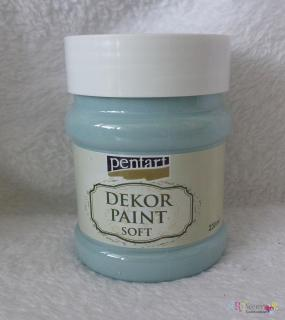 Decort Paint Soft 230ml-country modrá