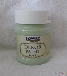 Decort Paint Soft 230ml-country zelená