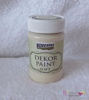 Decort Paint Soft 100ml-marhuľová